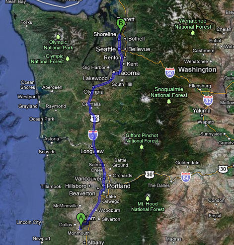 PART 10: 2011 American Road Trip – Corvallis OR to Seattle WA to Spokane WA