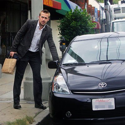 photo of Ryan Gosling Hyundai - car