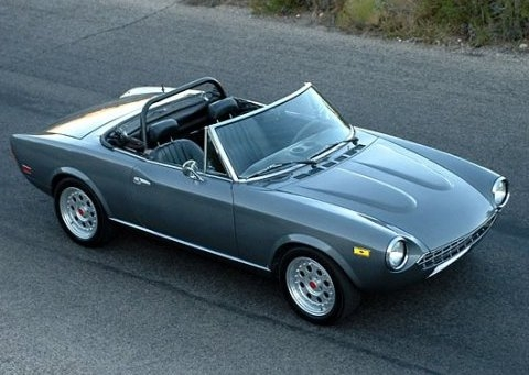 NOT Driven: 1975 Fiat 124 Spider « Car And Truck Reviews « Reviews